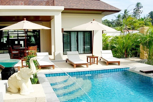 3 Bed Tropical home in Nai Harn